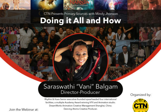 "Doing it all and How"" with Director and Producer Sarswathi 'Vani' Belgam."
