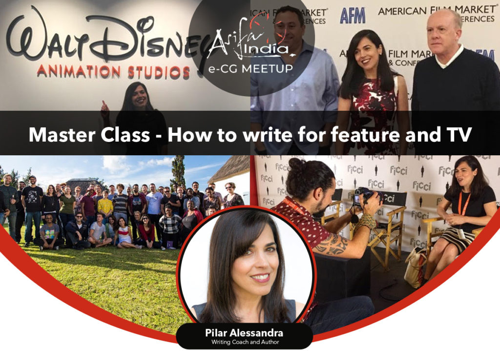 e-CG MEETUP 6 : Master Class – How to write for feature and TV