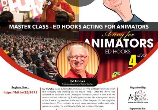 e-CG MEETUP 8 : Masterclass on Acting for Animators