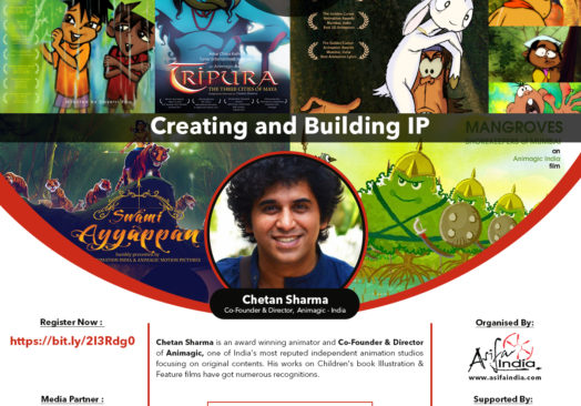 e-CG MEETUP 9 : Creating & Building IP for animation with Chetan Sharma