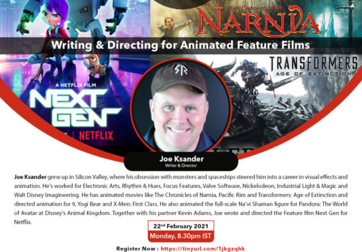ASIFA India e-CG Meetup – Writing & Directing for Animated Feature Films