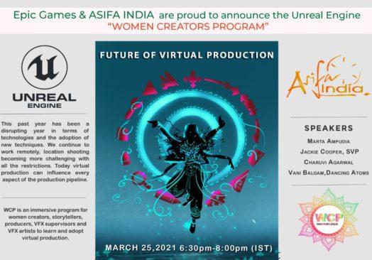 Women Creators Program – Live & Exclusive Unreal Engine
