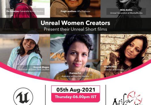 Unreal Women Creators Present their Unreal Short Films