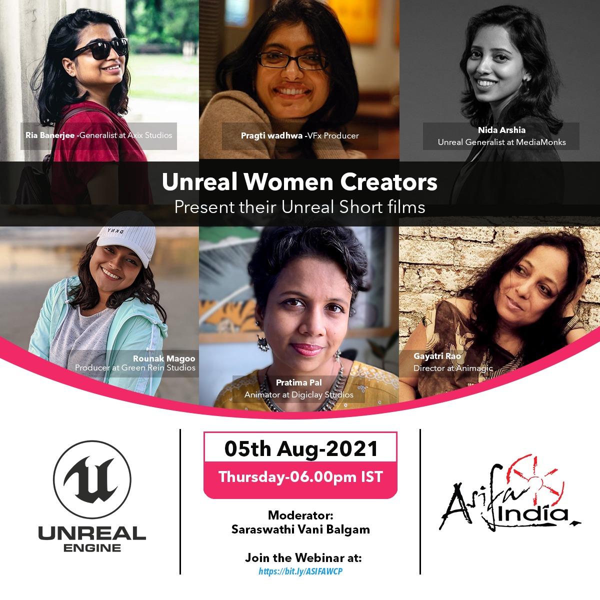 Unreal Women Creators